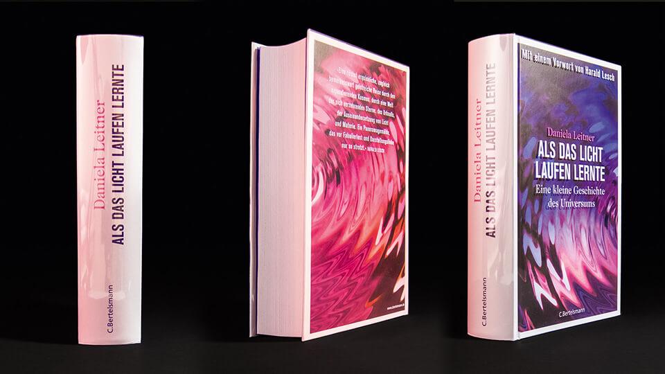 Daniela Leitner / Als das Licht laufen lernte / Eine kleine Geschichte des Universums / Buch Cover