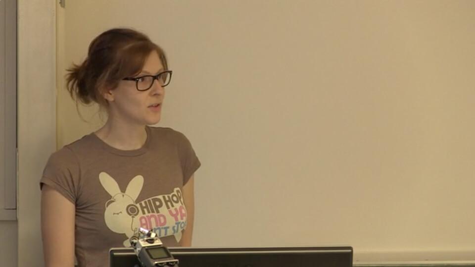 ELINAS / Vortrag von Daniela Leitner an der FAU Erlangen
