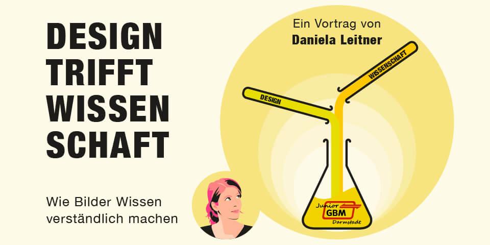 """""""Design trifft Wissenschaft"""" – ein Vortrag von Daniela Leitner an der Technischen Universität Darmstadt"""