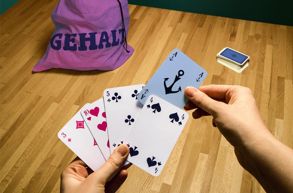 Gehirn und Geist / Serie Arbeit und Karriere / Anker-Ass beim Poker ums Gehalt / Daniela Leitner
