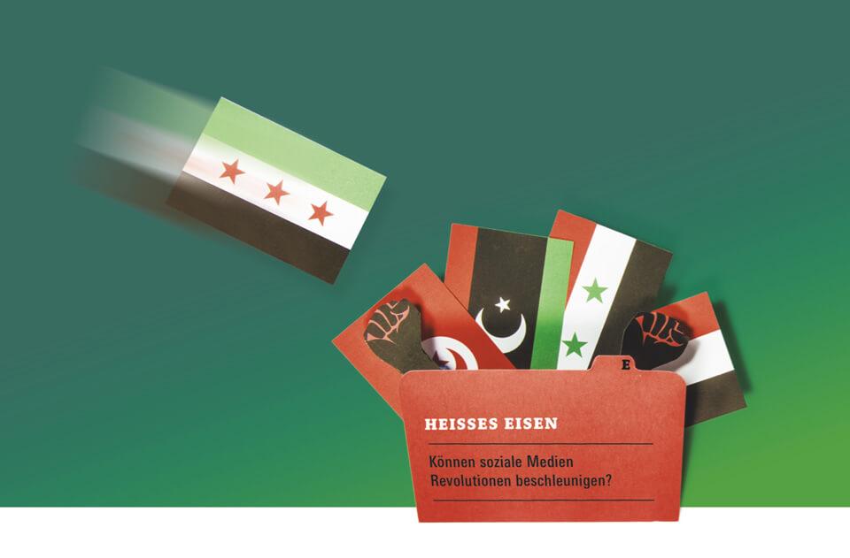Titelthema Internet und soziale Medien / bild der wissenschaft / Teil 7: Heißes Eisen – Können soziale Medien Revolutionen beschleunigen? / Arabischer Frühling