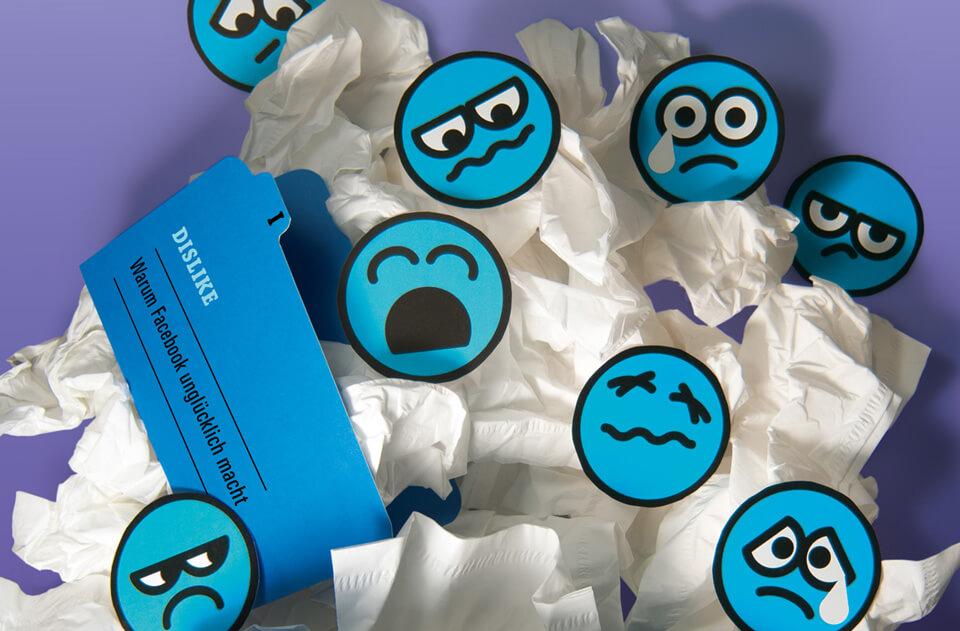 Titelthema Internet und soziale Medien / bild der wissenschaft / Teil 1: Dislike – Warum Facebook unglücklich macht