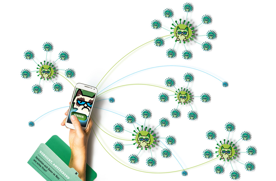 Titelthema Internet und soziale Medien / bild der wissenschaft / Teil
