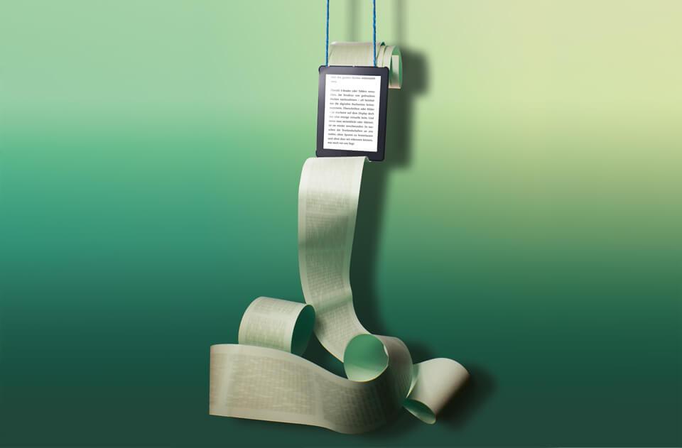 E-Reading Papierrolle / Daniela Leitner