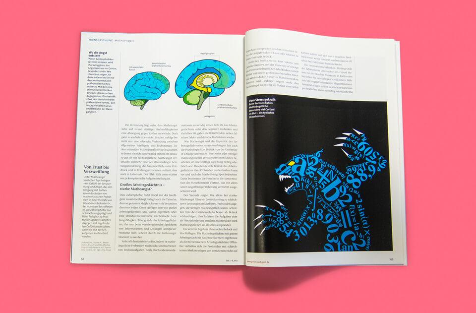 Gehirn und Geist / Spektrum der Wissenschaft / Magazin Ausgabe 7-8 2013 / Wolfmonster