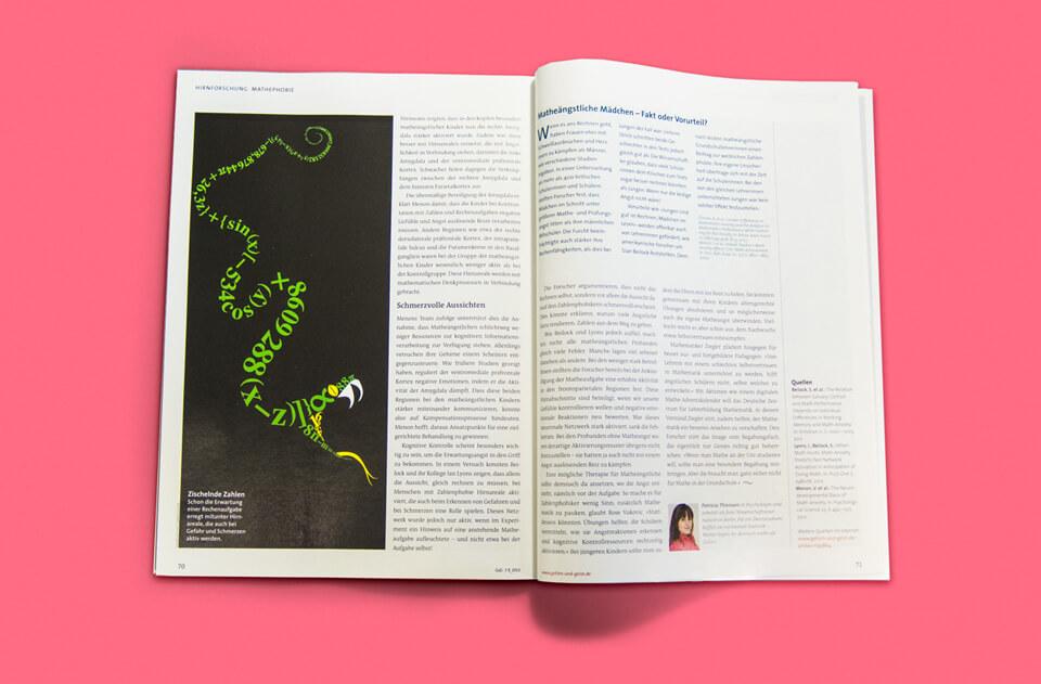 Gehirn und Geist / Spektrum der Wissenschaft / Magazin Ausgabe 7-8 2013 / Schlangenmonster