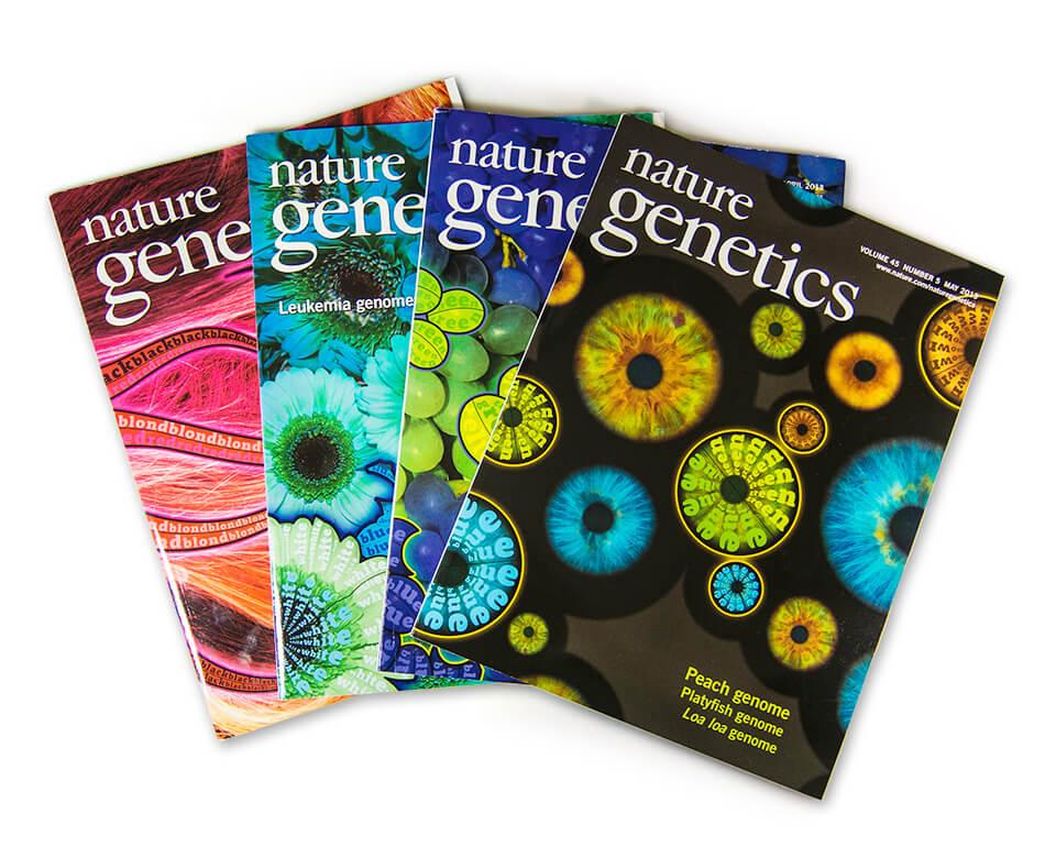 Nature Genetics / Coverserie / Daniela Leitner