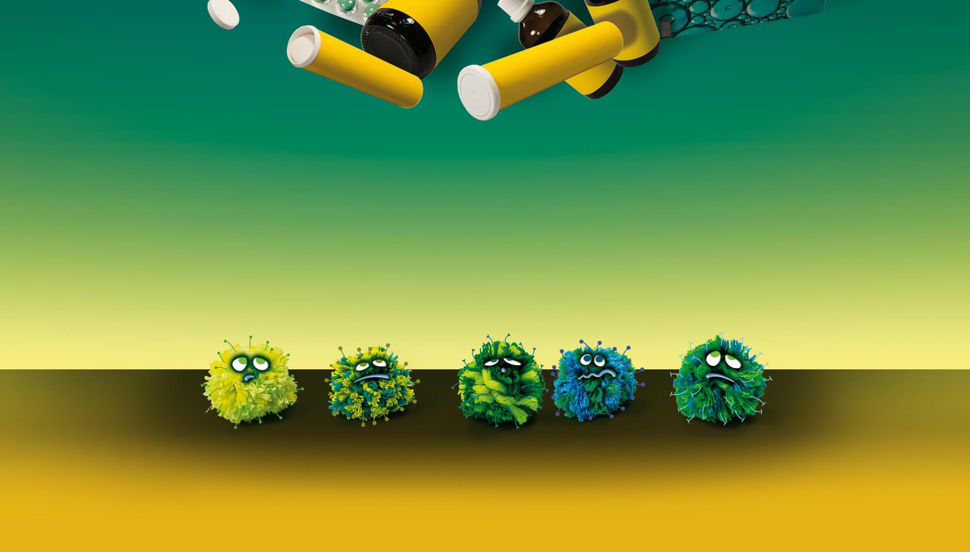 bild der wissenschaft / Erkältung / Viren