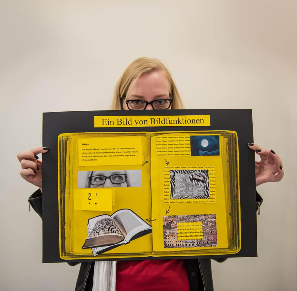 Studienstiftung des deutschen Volkes / Kulturakademie Weimar 2016 / Seminar »Design trifft Wissenschaft« von Daniela Leitner / Infografik-Plakat von Christine Schwitay