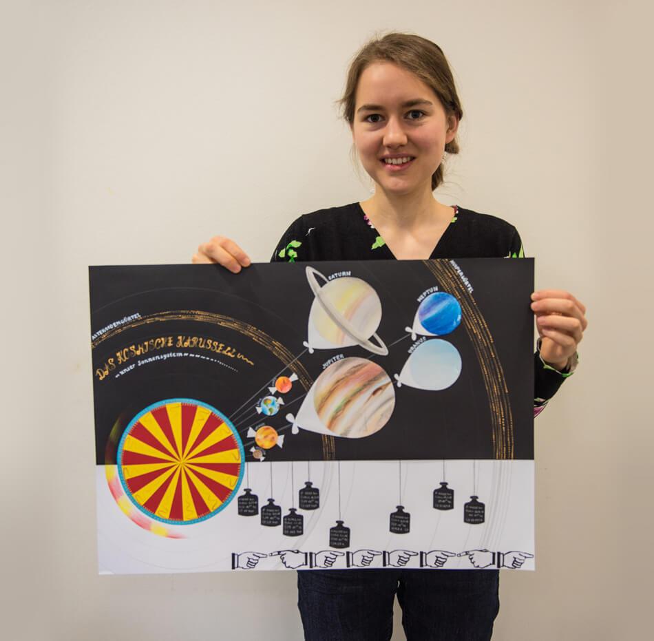 Studienstiftung des deutschen Volkes / Kulturakademie Weimar 2016 / Seminar »Design trifft Wissenschaft« von Daniela Leitner / Infografik-Plakat von Florentine Mostaghimi-Gomi