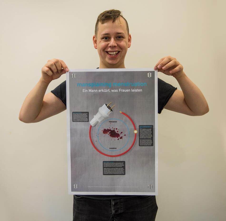 Studienstiftung des deutschen Volkes / Kulturakademie Weimar 2016 / Seminar »Design trifft Wissenschaft« von Daniela Leitner / Infografik-Plakat von Frank Hildebrandt