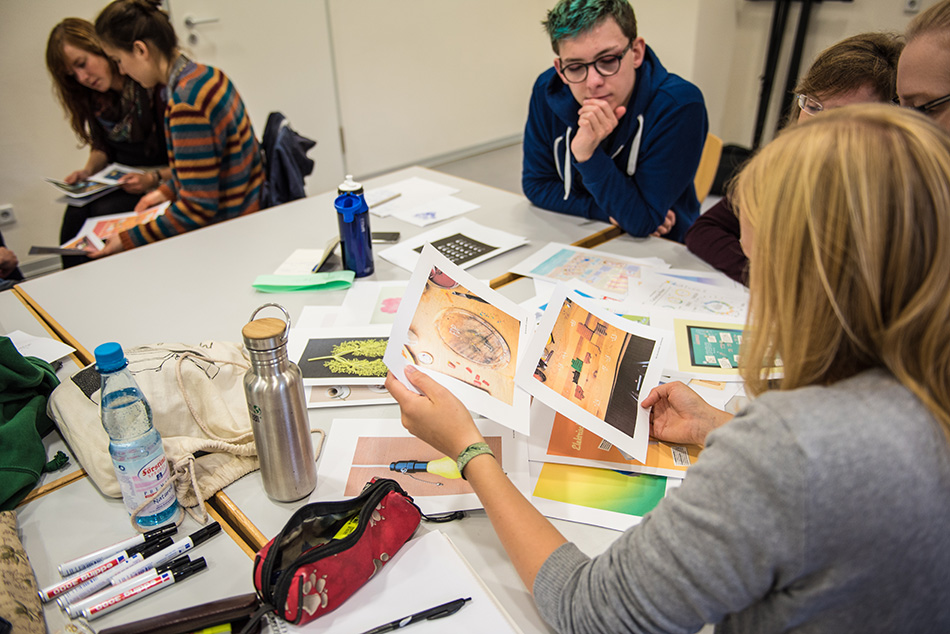 Studienstiftung des deutschen Volkes / Kulturakademie Weimar 2016 / Seminar »Design trifft Wissenschaft« von Daniela Leitner / Teil 1: Design sortieren