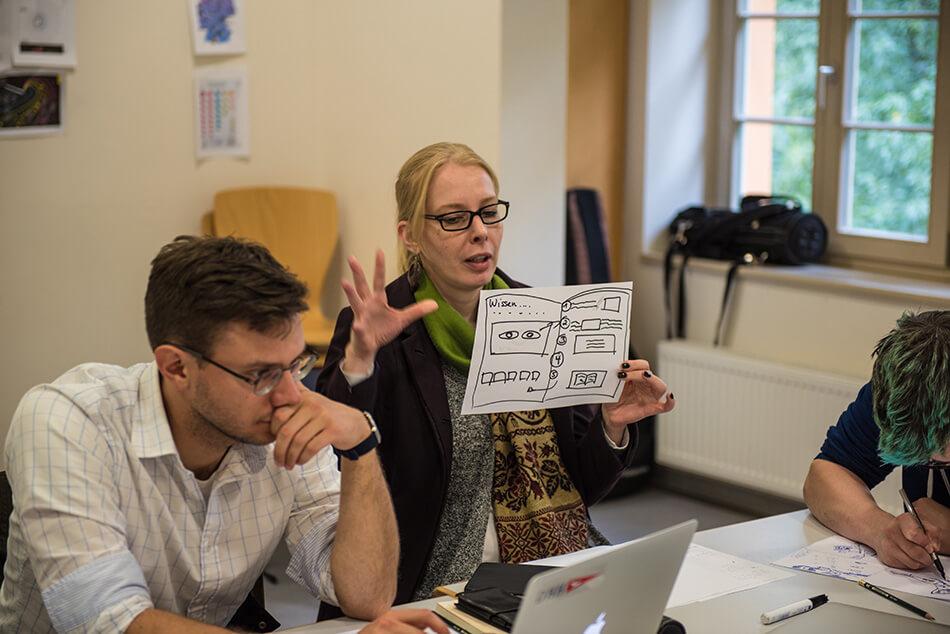 Studienstiftung des deutschen Volkes / Kulturakademie Weimar 2016 / Seminar »Design trifft Wissenschaft« von Daniela Leitner / Teil 2: Ideen finden