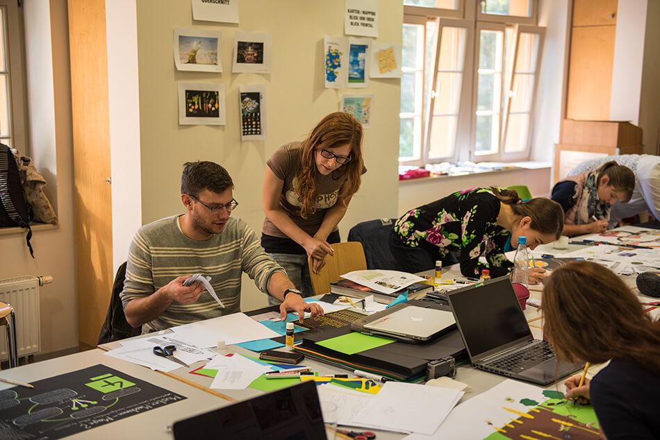 Studienstiftung des deutschen Volkes / Kulturakademie Weimar 2016 / Seminar »Design trifft Wissenschaft« von Daniela Leitner / Teil 4: Feinschliff