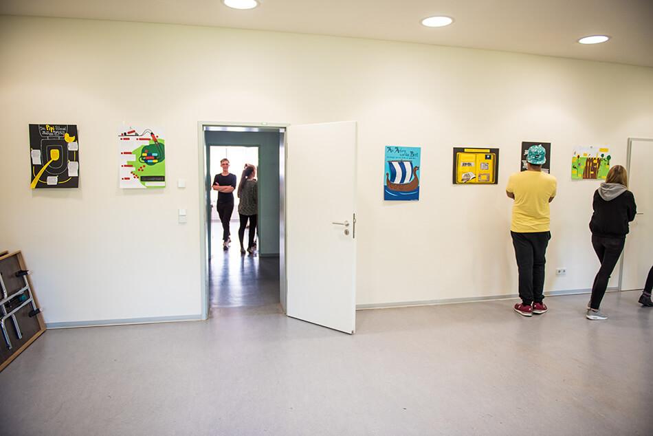 Studienstiftung des deutschen Volkes / Kulturakademie Weimar 2016 / Seminar »Design trifft Wissenschaft« von Daniela Leitner / Teil 6: Ausstellung